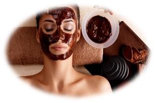 Kosmetické ošetření čokoláda